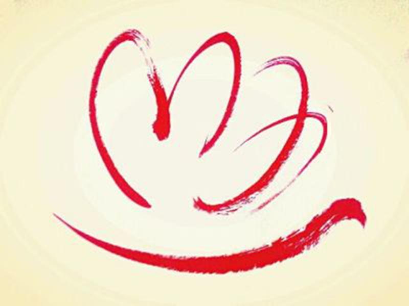 志愿者协会会徽-我校召开青年志愿者协会成立大会